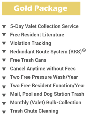 valet trash collection
